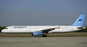 ロシア 「コガリムアビア」旅客機