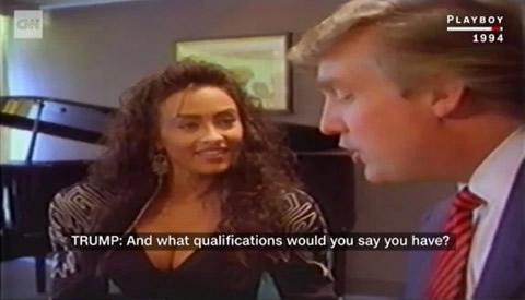 ドナルドトランプ ポルノビデオ 1994年 プレイボーイ作品の画像